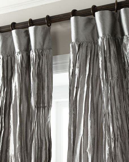 crushed satin curtains dian austin couture home each 96 quot l penthouse suite crushed