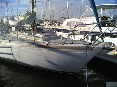 bow of boat starboard new dufour project