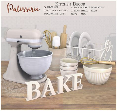 Patisserie Decorative Accessories by Collabor88 Archives What Next