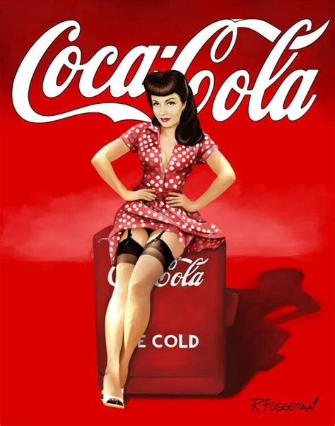 imagenes pin up hd vintage coca cola pin up girl nostalgia reproduction