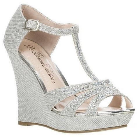 Silver Wedge Wedding Shoes by Silver Wedge Sandals Wedding 28 Images Silver Wedge