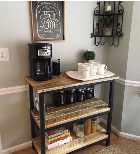 Kitchen Cart Coffee Station Best 25 Coffee Stations Ideas On Coffe Bar