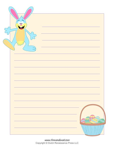 printable easter paper free easter bunny template easter bunny clipart and