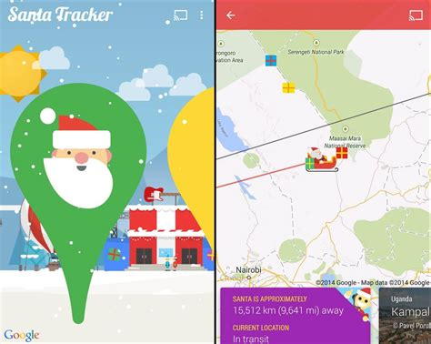 Santa Tracker Phone Number Where S Santa The 2014 Santa Tracker Review From Norad