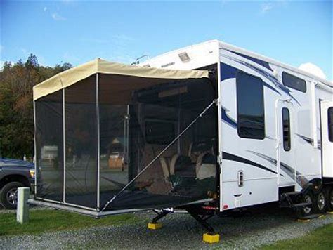 Motorhome Porch Awning by Rv R Screen Patio Awning The Frame Is Made From Pvc