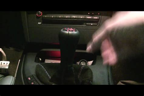 E90 Shift Knob Removal by Bmw Oem Shifter Movement At Shift Knob E90 E92 M3