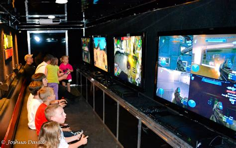 game truck layout video game truck laser tag birthday party in massachusetts
