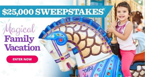 parents magical family vacation 25000 sweepstakes offers contest - All Recipes Sweepstakes