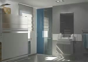 portes de placard coulissantes de salle de bain sur mesure