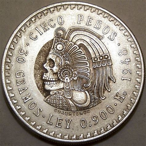 Aztec Replica Lucky Coin quot hobo quot 1948 mexico cinco pesos coin community forum