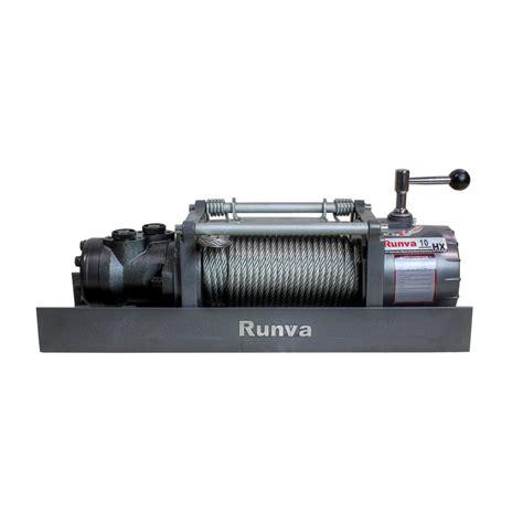 Winch Runva Ewg 10 000 runva 10 000 lbs capacity hydraulic towing recovery winch