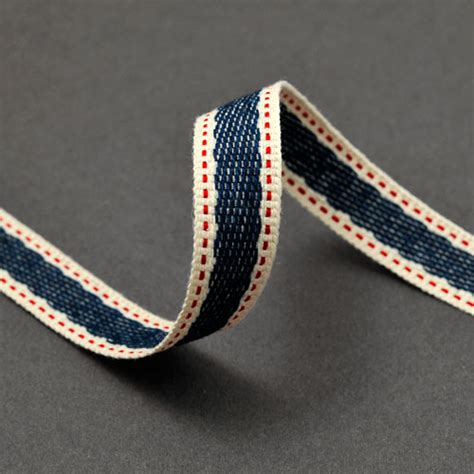 Home Decor Trims by 5 8 Quot Stitched Twill Tape Trim Ribbon Bs 5125