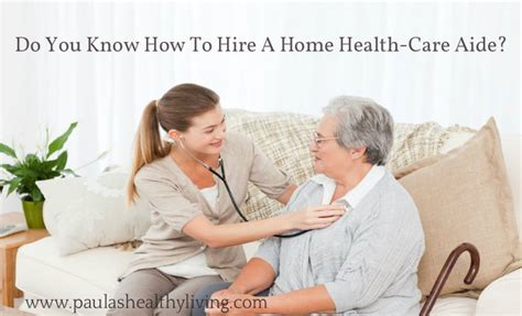 home health care options for aging family members