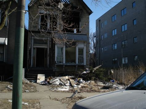 Indiana Assessor S Office by Chicago Abandoned Lot Project 4341 S Indiana Ave