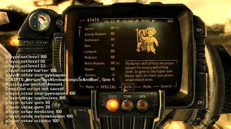 console commands for new vegas fallout 4 console commands unsupported can mess up save