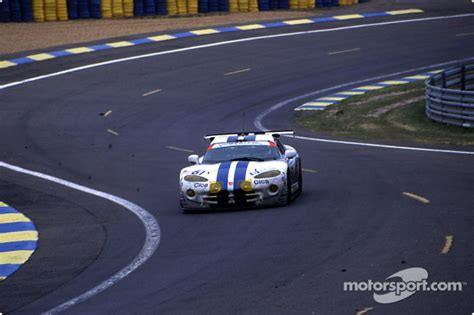 Team Chrysler Hours 61 Viper Team Oreca Chrysler Viper Gts R Philippe Gache
