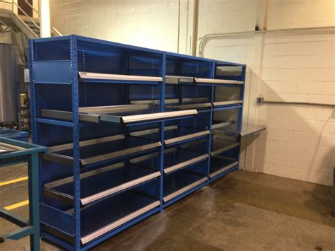Roll Out Shelf Racks by Roll Out Shelves Q Material Handling