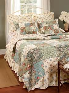 Country Quilts And Curtains rosalie patchwork quilt and bedding collection country