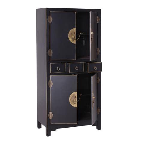 armario negro armario oriental negro 161 barato te imaginas