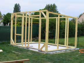 construire une cabane de jardin en bois
