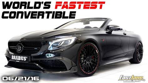 world s fastest 4 seat convertible bentley barnato