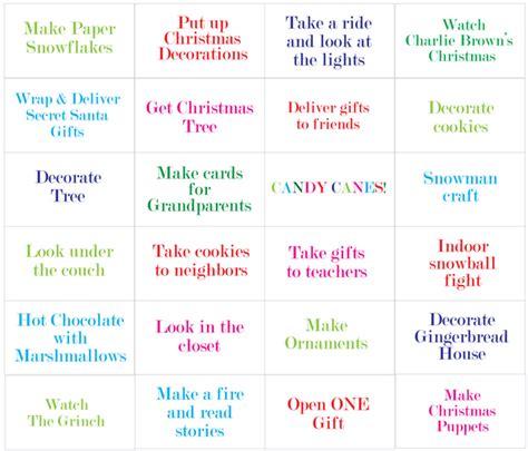 8 Best Calendar Ideas For 2011 by Diy Activity Advent Calendar Honest To Nod