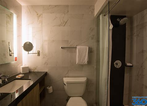 vegas bathrooms linq hotel rooms