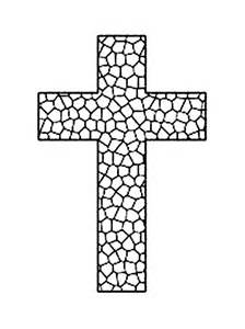 cross coloring pages to print coloringstar