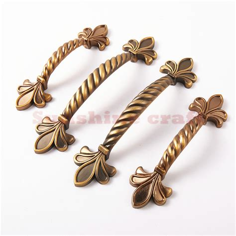 Country Style Kitchen Door Handles 6pcs cabinet hardware china dresser drawer handles kitchen