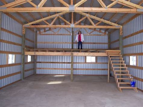 shop with loft shop loft garage shop man cave pinterest barn