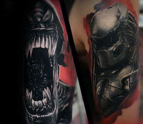 predator tattoo designs 50 predator designs for sci fi ink ideas