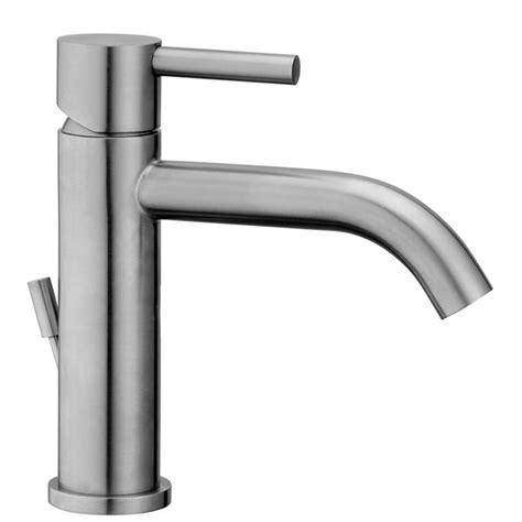 rubinetti per lavabo miscelatore steel paffoni in acciaio inox per lavabo