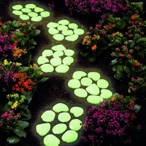glow in the dark rocks glow in the dark core pebbles outdoortheme com