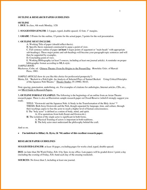mla style research paper office templates