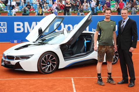 how to open a bmw andy murray wins 2015 bmw open in munich gets a brand new
