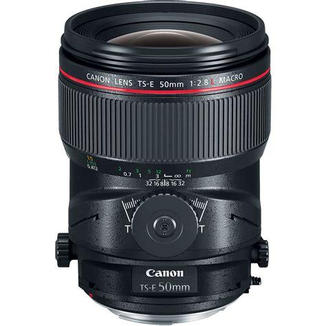 Lensa Canon Tilt Shift canon ts e 50mm f 2 8l macro tilt shift lens 2273c002 b h