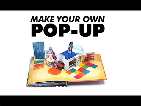 make up your own riffs make your own pop up book 7 angle fold box youtube