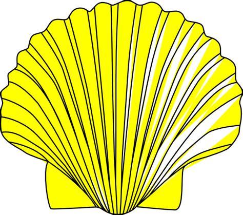 shell clipart shell clip at clker vector clip