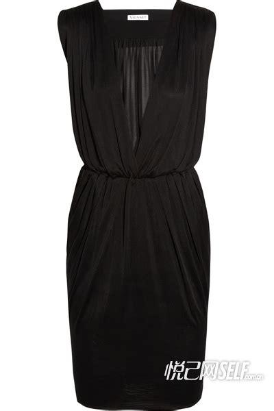 Cn Dress Aning 465 Dress 欧美明星力追复古小黑裙 时尚百搭 图 流行搭配 服饰 太平洋女性网