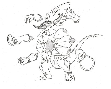 pokemon coloring pages hoopa hoopa unbound v 2 by xxd17 on deviantart