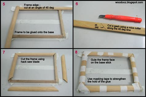 how to frame a print how to make a photo frame at home indian woodworking diy
