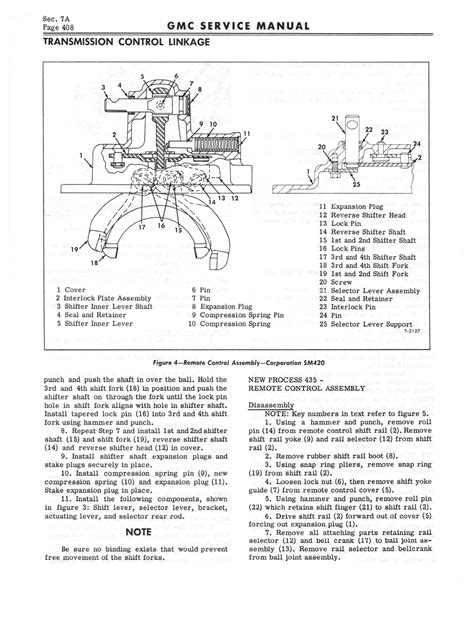 service manual old car manuals online 2009 gmc savana 1500 auto manual service manual 1997 1966 gmc service manual series 4000 6500 page 414 of 506