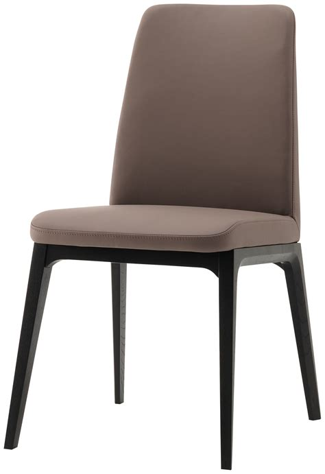 Boconcept Dining Chairs Lausanne Dining Chair Bahia Leather Black Stained
