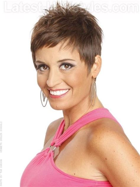 cute spikey hair cuts for women over 50 pictures of short spiky haircuts for women over 50