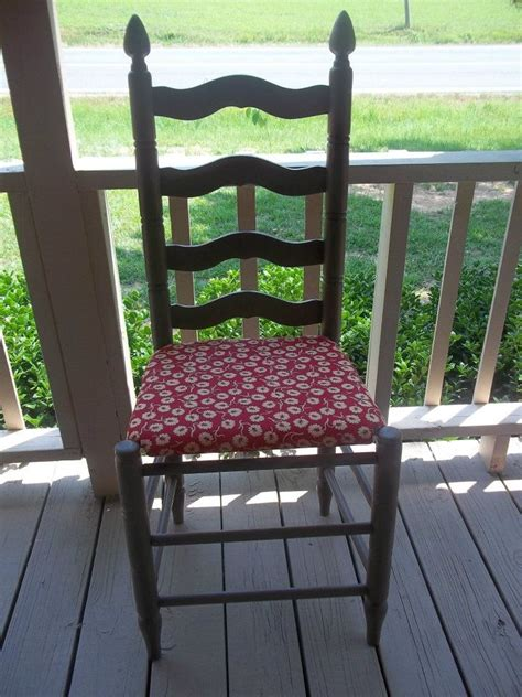 Ladder Back Seat Chairs - 34 best images about ladder back chair up do on
