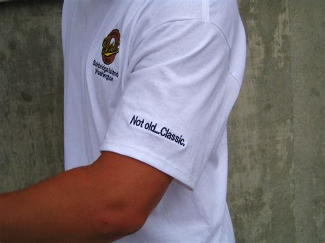 custom embroidery shirts classic cycle t shirts with embroidered logos classic