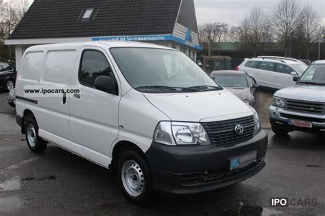 Toyota Hiace 2008 2008 Toyota Hiace Box 2 5 1 Kasten Top Maintained