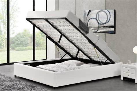 cadre de lit avec rangement cadre de lit simple avec coffre de rangement kennington
