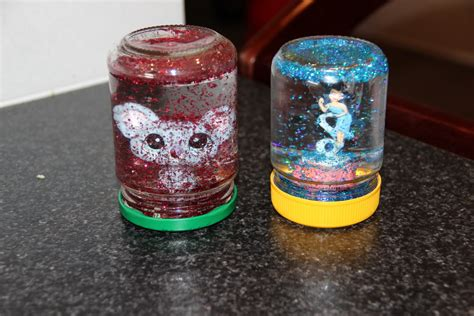 Handmade Snow Globes - what do you do all day snow globes