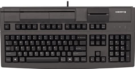Keyboard Elektronik g80 8040luvde 2 keyboard with magnetic card reader black at reichelt elektronik
